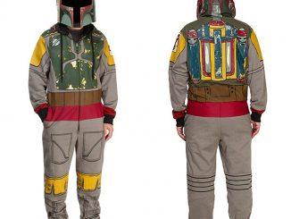 Star Wars Boba Fett Hooded Onesie Pajamas