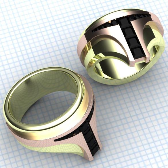 Star Wars Boba Fett Hunter Ring