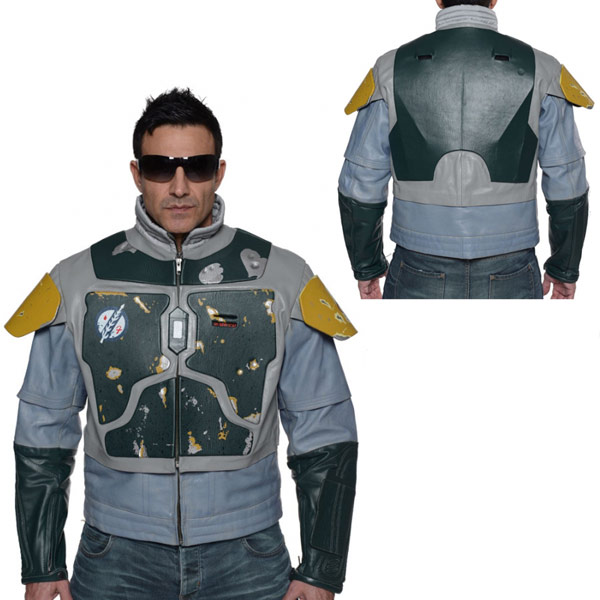 Star Wars Boba Fett Leather Street Jacket