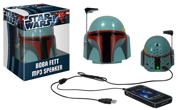 Star Wars Boba Fett MP3 Helmet Speaker