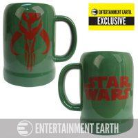 Star Wars Boba Fett Mandalorian Symbol 20 oz. Ceramic Stein