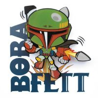 Star Wars Boba Fett Mini 3D Light