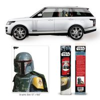 Star Wars Boba Fett Passenger Series Window Decal