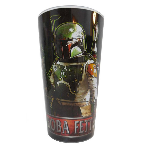 Star Wars Boba Fett Pint Glass