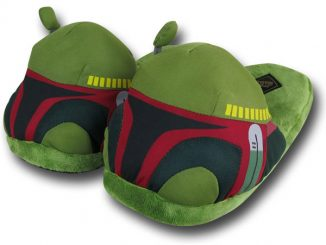 Star Wars Boba Fett Plush Slippers