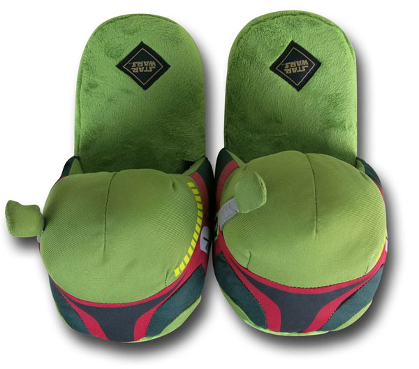 Star Wars Boba Fett Slip-on Slippers