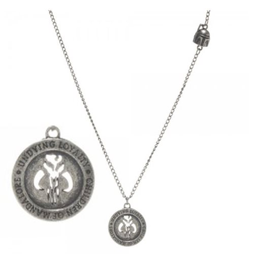 Star Wars Boba Fett Sole Ruler Necklace