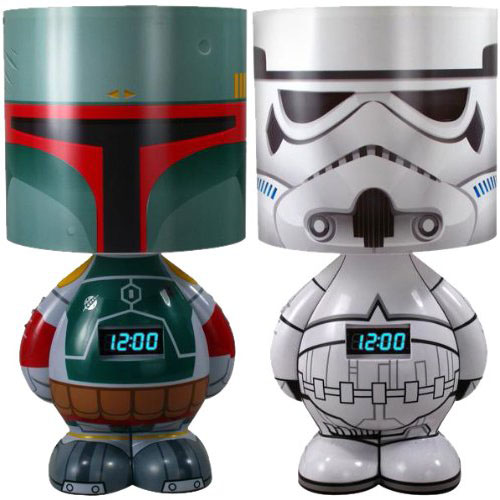 Star Wars Boba Fett & Stormtrooper Lamp