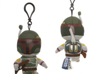 Star Wars Boba Fett Talking Plush Clip-On