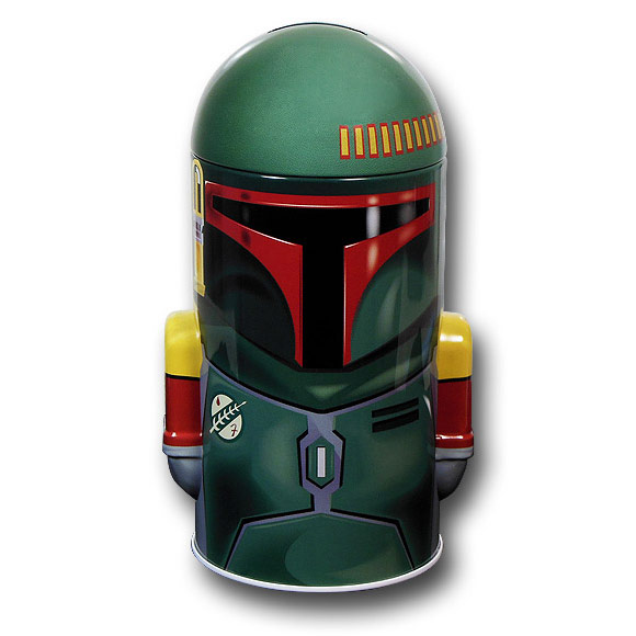 Star Wars Boba Fett Tin Bank