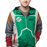 Star Wars Boba Fett Windbreaker Jacket