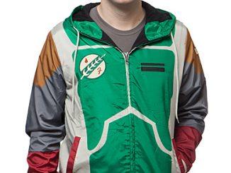 Star Wars Boba Fett Windbreaker Jacket