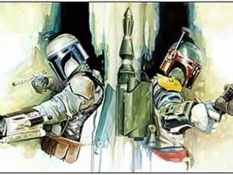 Star Wars Boba Fett & Jango Generations Canvas Giclee Print