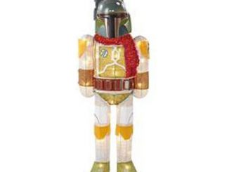 Star Wars Boba Fett w Scarf 28-Inch Light-Up Tinsel Display