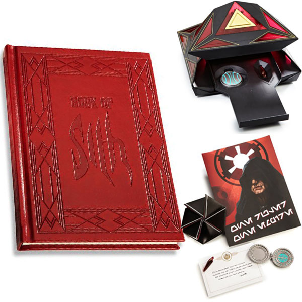 Star Wars Book of Sith Secrets from the Dark Side