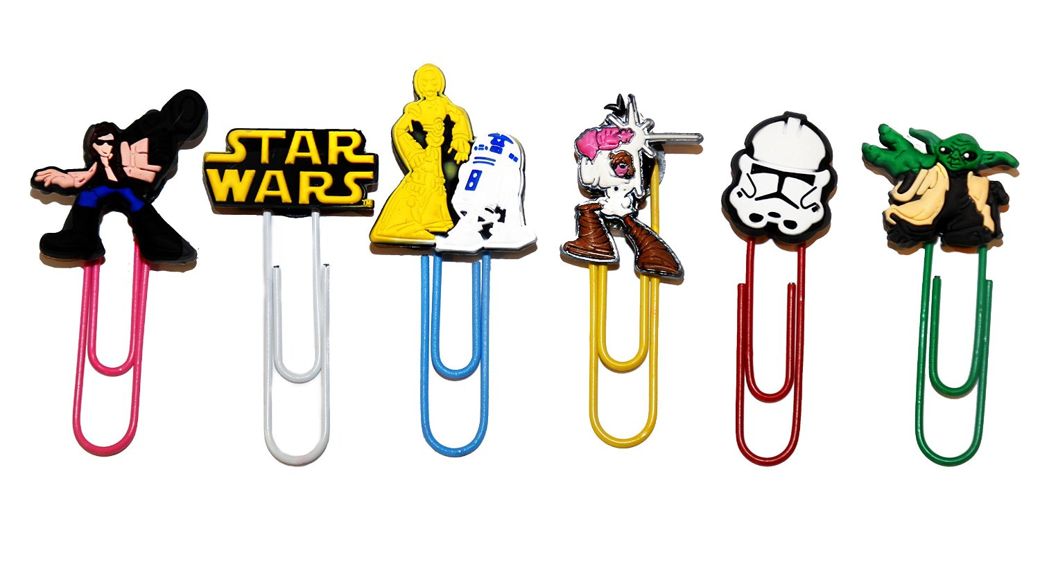 Star Wars Bookmark Paperclip Page Markers