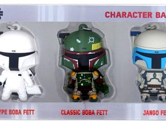 Star Wars Bounty Hunter Comic Con Key Chain Set