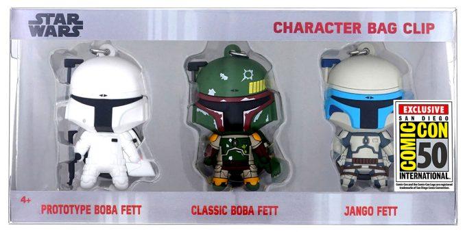 Star Wars Bounty Hunter Comic Con Key Chain Set