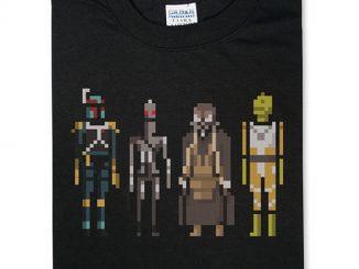 Star Wars Bounty Hunters Pixelated T-Shirt