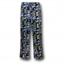 Star Wars Boxes Knit Pajama Pants