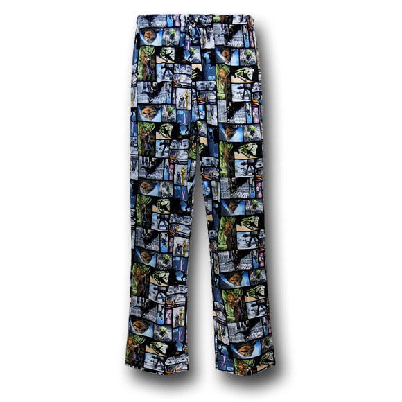 Star Wars Boxes Knit Pajama Pants