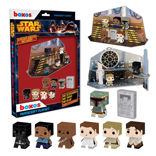 Star Wars Boxo Papercraft Playset