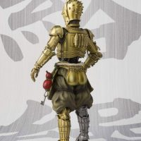 Star Wars C-3PO Honyaku Karakuri Meisho Movie Realization Action Figure Back