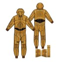 Star Wars C-3PO Hooded Onesie