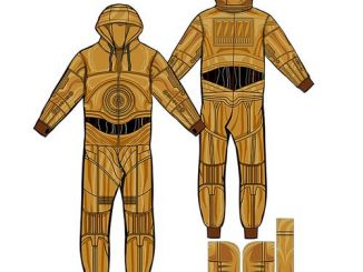 Star Wars C-3PO Hooded Onesie
