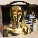 Star Wars C-3PO & R2-D2 Tin Workmans Lunchbox