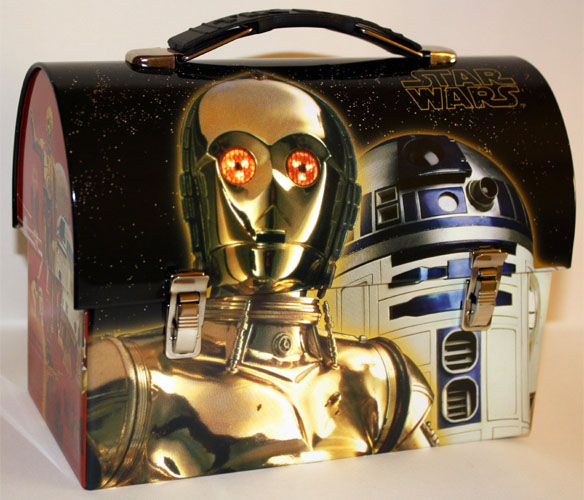 & Star Wars R2-D2 Tin Dome Lunch Box Aboutintivar.Com