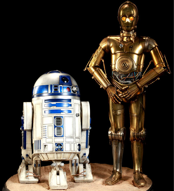 Star Wars C-3PO and R2-D2 Premium Format Figures