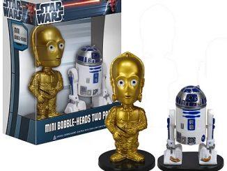 Star Wars C-3PO and R2-D2 Ultra-Mini Bobble Head 2-Pack