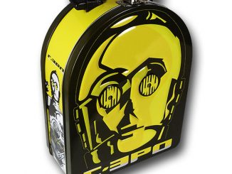Star Wars C3PO Face Lunchbox