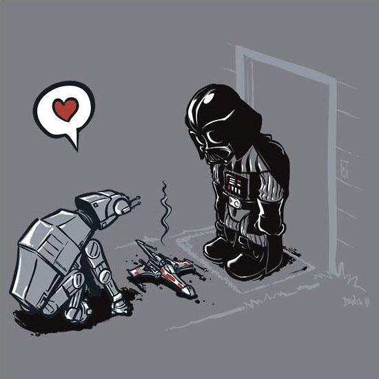 Star Wars CAT-AT T-Shirt