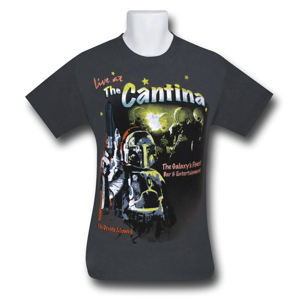Star Wars Cantina Band Flyer Shirt