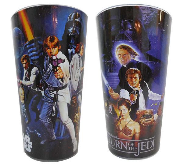 Star Wars Cast Action Pint Glasses