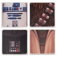 Star Wars Ceramic Coaster 4-Pack
