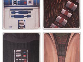 Star Wars Ceramic Coaster 4-Pack