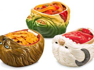Star Wars Ceramic Snack Bowls