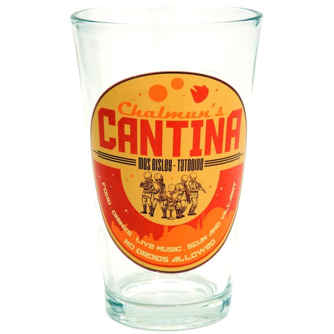Star Wars Chalmun's Mos Eisley Cantina Pint Glass