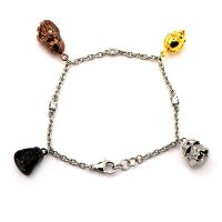 Star Wars Character Heads Charm Bracelet