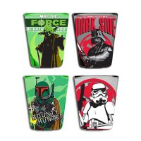 Star Wars Character Shot Glass 4-Pack