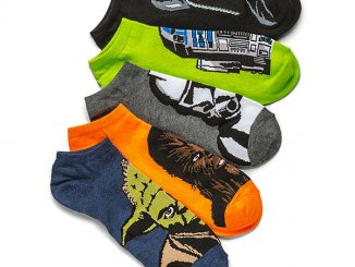 Star Wars Characters Low Cut 5-pack Socks