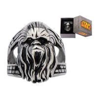Star Wars Chewbacca 3-D Stainless Steel Ring