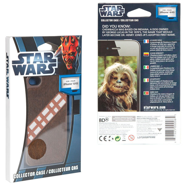 Star Wars Chewbacca Collector Case for iPhone 4-4S