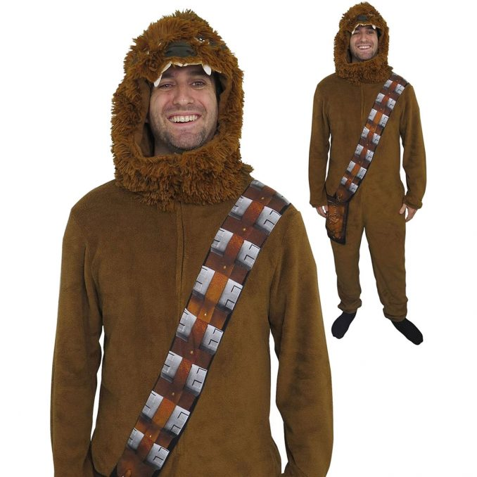 Star Wars Chewbacca Costume Fleece Union Suit