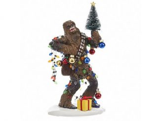 Star Wars Chewbacca Holiday Statue