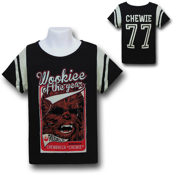 Star Wars Chewbacca Kids Jersey Shirt