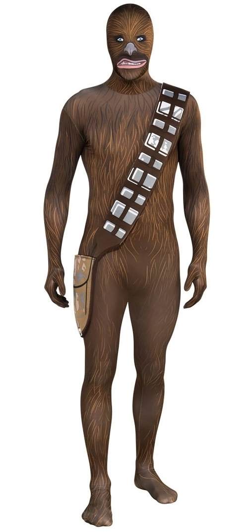 Star Wars Chewbacca Morphsuit